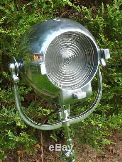 Lampe De Théâtre Vintage Lampe Ancienne Studio De Cinéma Art Deco Strand Tripod Patt 123