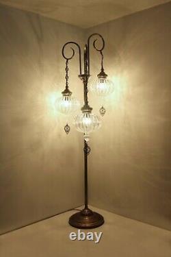 Lampe Turque, Plancher Debout Vitrail De Chevet Lampe Marocaine, Lampe De Plancher
