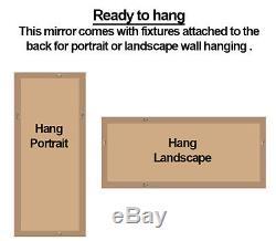 Luna X Grand Miroir De Plancher Complet Sans Miroir, Mur, Sans Cadre, Moderne 70 X 30