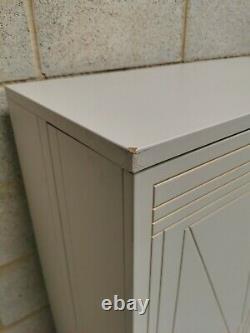 Marks & Spencer's Carraway Art Deco Light Grey Boissons Cabinet Rrp-£499