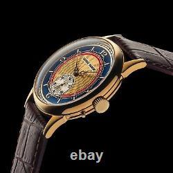 Men Wrist Watch Vintage Mechanical 17j Restauré Suisse Ulysse Nardin Mouvement