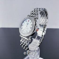 Michele Mw16a01a2025 Mesdames Diamant Caber Montre 0.58cttw (pb1012524)
