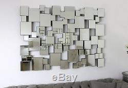 Miroir Romain Moderne Carré Art Déco Briques Art Déco 4 Options