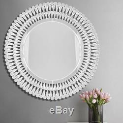 Miroir Suspendu De Miroir Décoratif Moderne En Verre Vénitien 3d Moderne Sunburst