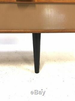 Moderniste 6ft Teck Cabinet Enfilade Siècle Rétro Vintage MID Danoise Era 1960