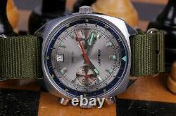 Montre Mécanique Vintage Poljot Sturmanskie Chronograph Military Cal. 3133 Urss
