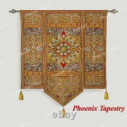 Moroccan Style I Fine Art Tapestry Wall Hanging, Cotton 100%, 54x66, Royaume-uni