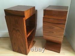 Paire De Style Art Déco Des Tables De Chevet