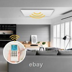 Panneau De Chauffage À Plafond Infrarouge Lointain Avec Télécommande Thermostat Intégrée