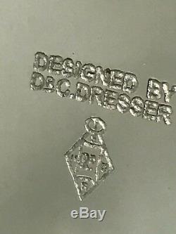 Plaque D'argent Christopher Dresser Design Théière De Style Art Déco