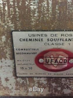 Poêle À Bois / Poêle À Charbon Art Déco