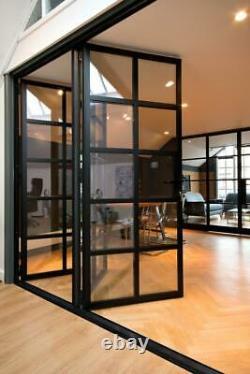 Porte De Style De Cristal, Portes De Cristal, Fenêtres, Ecrans, Bifold, Sliding, Slim