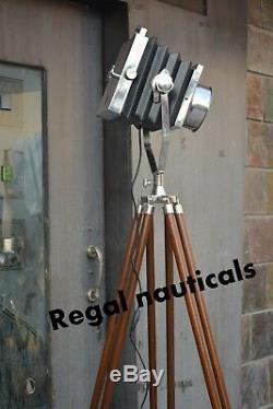 Projecteur De Caméra Trépied Lumière Nautique Décor À La Maison