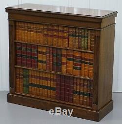 Rare Solide Chêne Pédonculé De Radiateur Faux Livre Bibliothèque Très Rare Find Must See