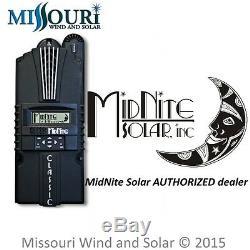 Régulateur De Contrôleur De Charge Midnite Solar Classic 200 Mppt 200v 79a Fabriqué Aux États-unis