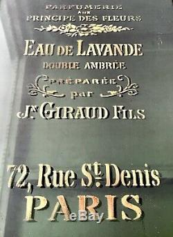 Réorientés Art Déco Salle De Bains, Vitrine. Graphics Français Bouteille De Parfum