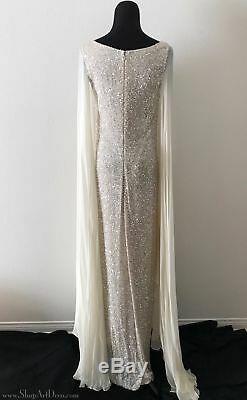 Robe De Soirée De Style Art Déco Des Années 1930 Teri Jon Par Rickie Freeman Tno