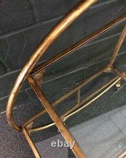Rockett St George Circular Art Deco 3-tier Boissons Trolley