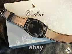 Rolex Cellini Danaos XL 18k Vendu White Gold Silver Dial 4243 /9 Watch Jumbo Box