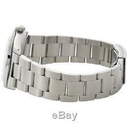 Roman # Diamond Mens Rolex Datejust Cadran En Acier Inoxydable Oyster 4 Ct