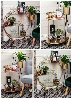 Rose Gold Round Drinks Trolley With 2 Or 3 Tier 30's Art Déco Vintage Home Ba Rose Gold Round Drinks Trolley With 2 Or 3 Tier 30's Art Déco Vintage Home Ba Rose Gold Round Drinks Trolley With 2 Or 3 Tier 30's Art Déco Vintage Home Ba Rose Gold Round Drinks Troll