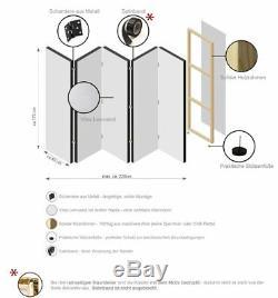 Séparateur De Chambre À Panneau Séparateur Pliant Séparateur De Confidentialité Accessoires De Chambre Vintage