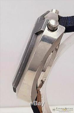 Serviced Bulova Bullhead Parcmètre Chronographe Automatique Cal 12 1973 Montre