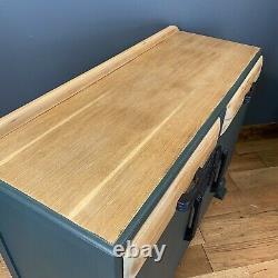 Sideboard Vintage / Sideboard Art Déco / Armoire Antique / Peint