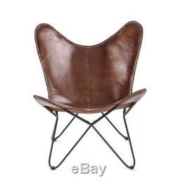 Siège De Meuble Rembourré En Métal De Style Industriel Vintage