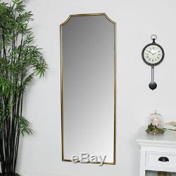 Sol Mur D'or Grande Chambre Miroir Plus Maigre Couloir Vie Chambre Décoration Pleine Longueur