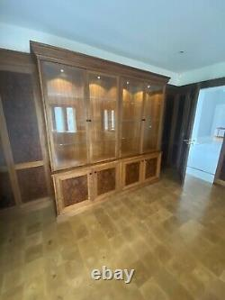 Stunning Étude De Luxe Chêne Et Noyer Par Harrison Collier Bespoke Furniture Rrp £ 28k