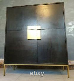 Swoon Banner Cabine / Cabinet De Boissons En Bois De Mangue Teinté Prix De Vente Conseillé £599 Deco Moderne