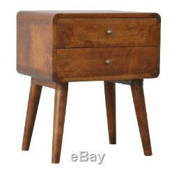 Table De Chevet En Bois Massif De Style Art Deco De Aristan Rangechestnut