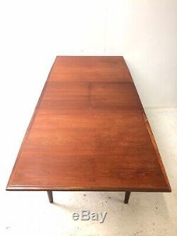 Table De Salle À Manger Extensible En Teck Mcintosh Vintage Retro MID Century Des Années 1960 4-10