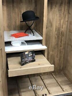 Timothy Oulton Furniture Gents Pourvoirie Armoire Rrp £ 3995