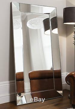 Vasto X Large Mur De Plancher Vénitien Plus Mince Miroir Grand Cadre Biseauté 72 X 36