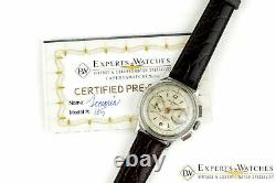 Vintage 1950s Lemania 105 Chronographe Wwii Cal 1275 (320 / 321) Ch27 Watch Cpo