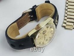 Vintage 1972 Omega Seamaster 176.007 Cal 1040 Chronographe Gold Fill Jedi Watch