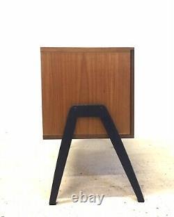 Vintage Retro MID Century Danois Des Années 1960 Teak Modernist Sideboard Vinyl Lp Cabinet