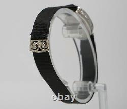 Vintage Vacheron & Constantin Platinum Diamant Art Déco Ovale Ladies Montre